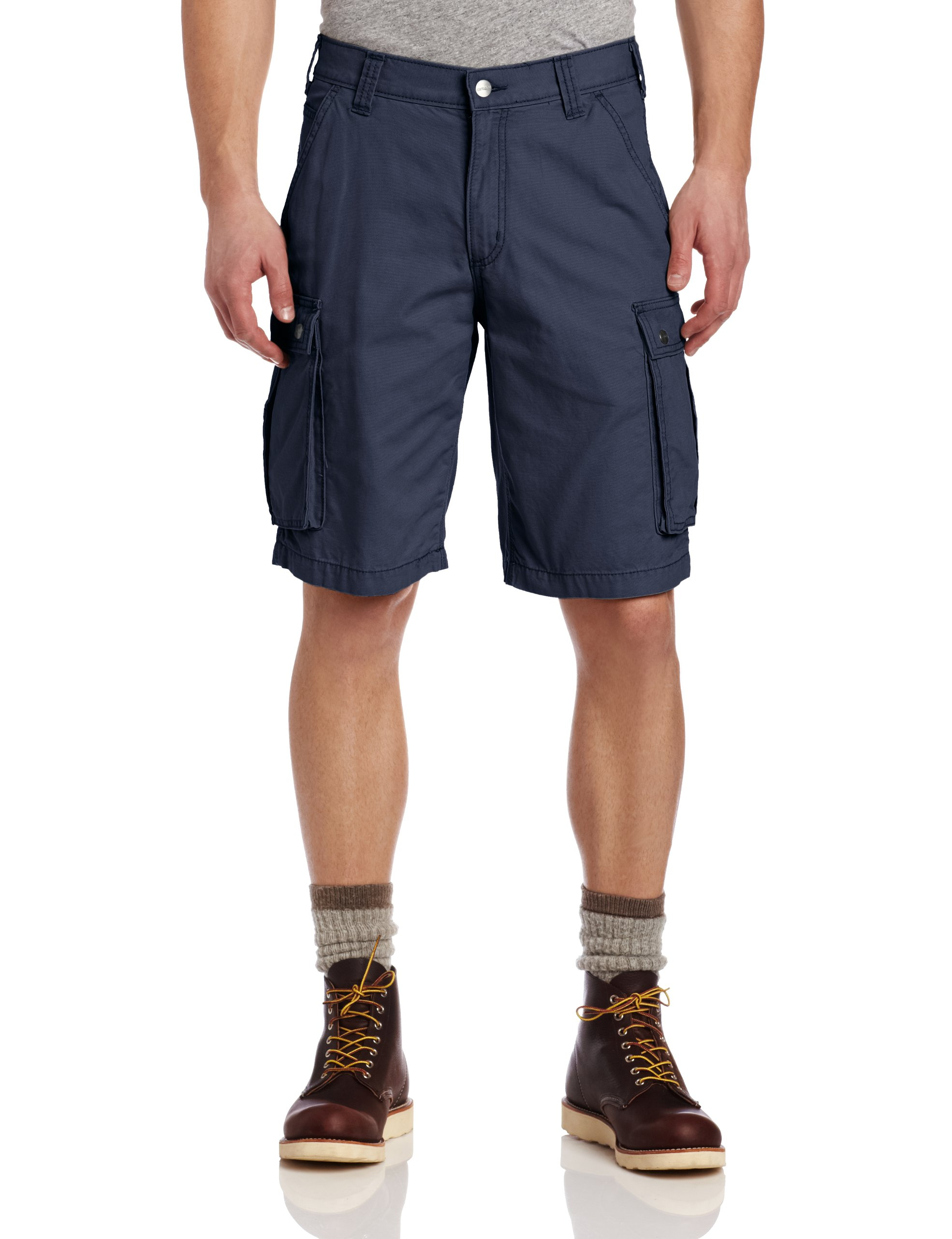 Carhartt Men's Rugged Cargo Short Relaxed Fit,Bluestone (Closeout),38