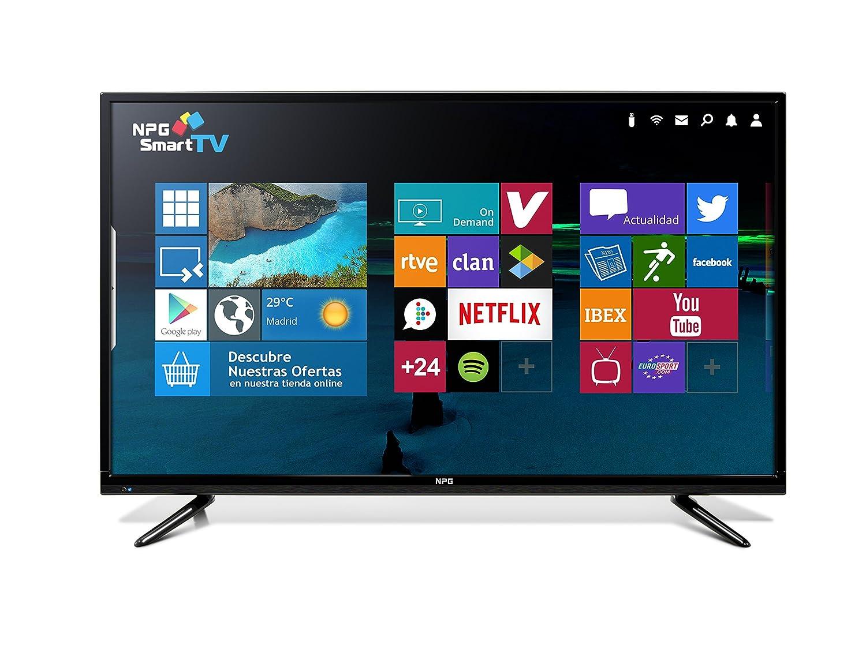 "Smart TV 43"" NPG TVS518L43U UHD 4K"