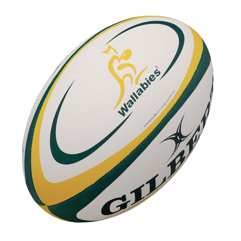 Gilbert - Réplica de balón de rugby (talla 5), diseño de la ...