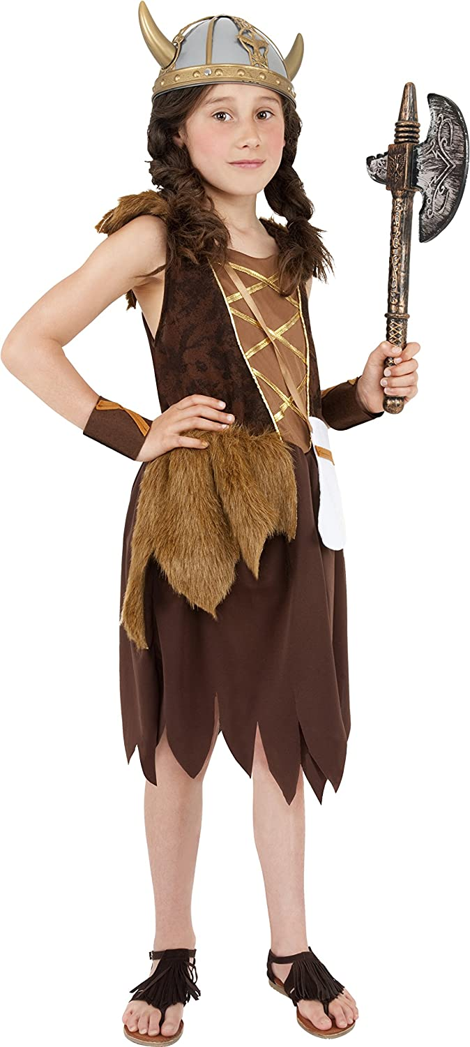 sc 1 st  Amazon.com & Amazon.com: Smiffy Viking Girl Child Costume-: Toys u0026 Games
