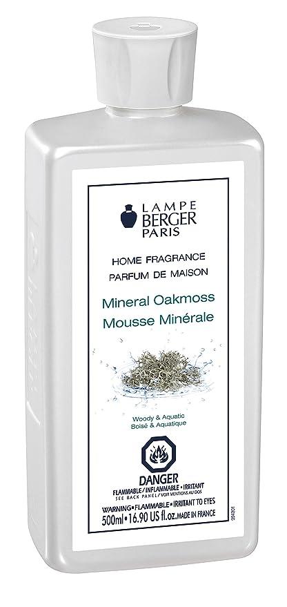 Lampe Berger 415342 500ml Mineral Oakmoss Fragrance   Mineral Oakmoss ,  500ml / 16.9 Fl