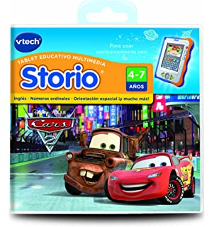 Vtech Storio - Cars 2 Para Storio 80-281922