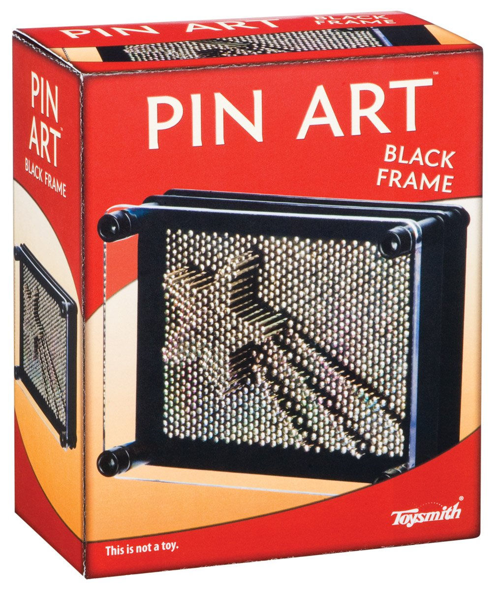 Toysmith Pin Art (Black Frame 3.75-Inch x 5-Inch) 1092
