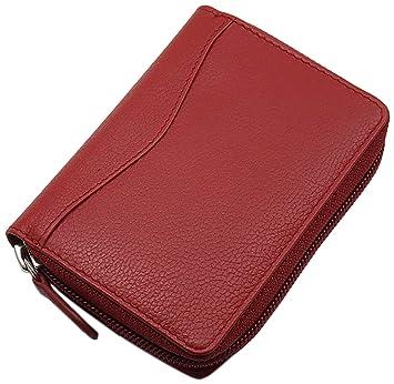 161f4ca7e4afe Universal Leder Kreditkartenetui und Geldbörse   Geldbeutel   Portemonnaie    Portmonaise   Geldtasche   Portmonee in