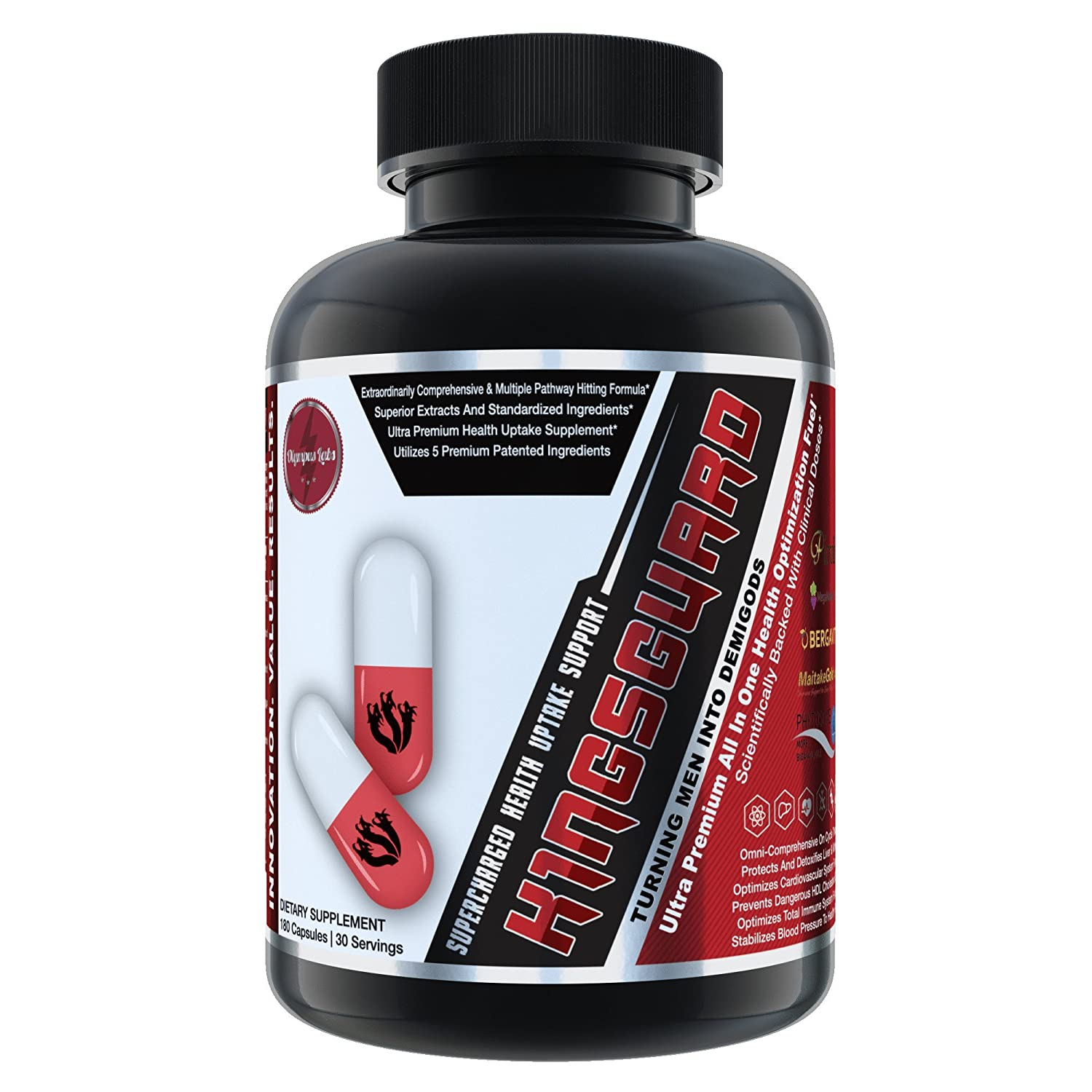 K1NGSGUARD Ultra Premium Health Optimization Support by Olympus Labs