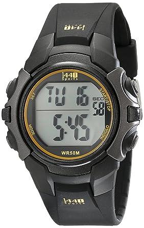 Amazon.com  Timex Men s T5K457 1440 Sports Digital Black Resin Strap ... 1c19f44039