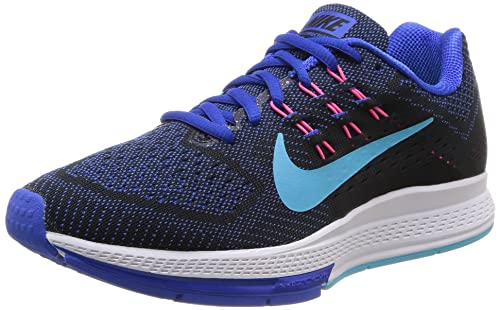 new product 28c69 34939 Nike Air Zoom Structure, 18 W Sneaker Women s Blue Size  2.5 UK