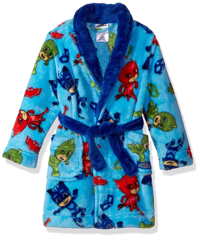 PJ Masks Boys' Bedtime Heroes Plush Robe Blue 2T 21PJ104ERDDZ
