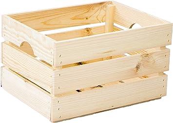 Caja de verduras apilable, caja de madera, caja de vino, caja de ...