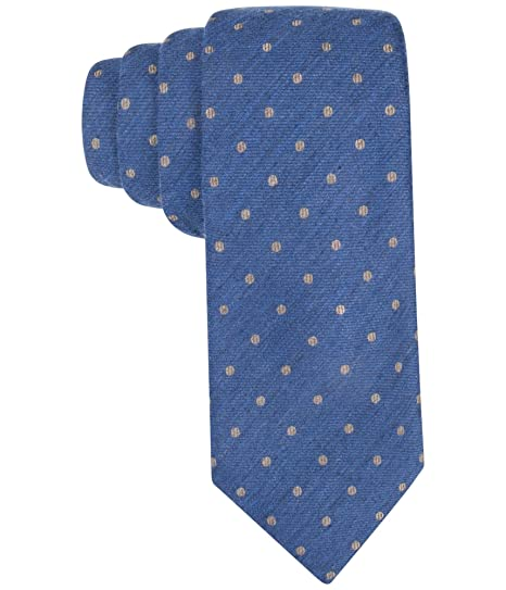 86229b50f646 Tasso Elba Mens Seasonal Dot Tie, Only A Taupe One Size at Amazon ...