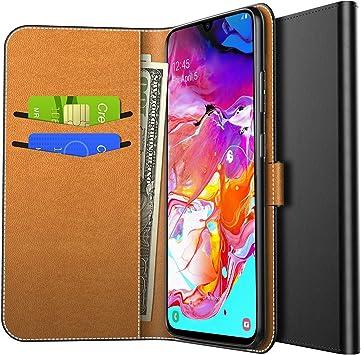 Yocktec Funda para Samsung Galaxy A70 2019, Funda de Billetera con ...