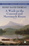 A Week on the Concord and Merrimack Rivers (Dover Thrift Editions)