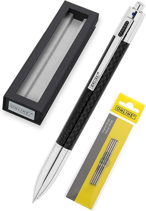 40 Kugelschreiber :- 4 Farben je Kuli für Kinder mit Halsband 4 Minen