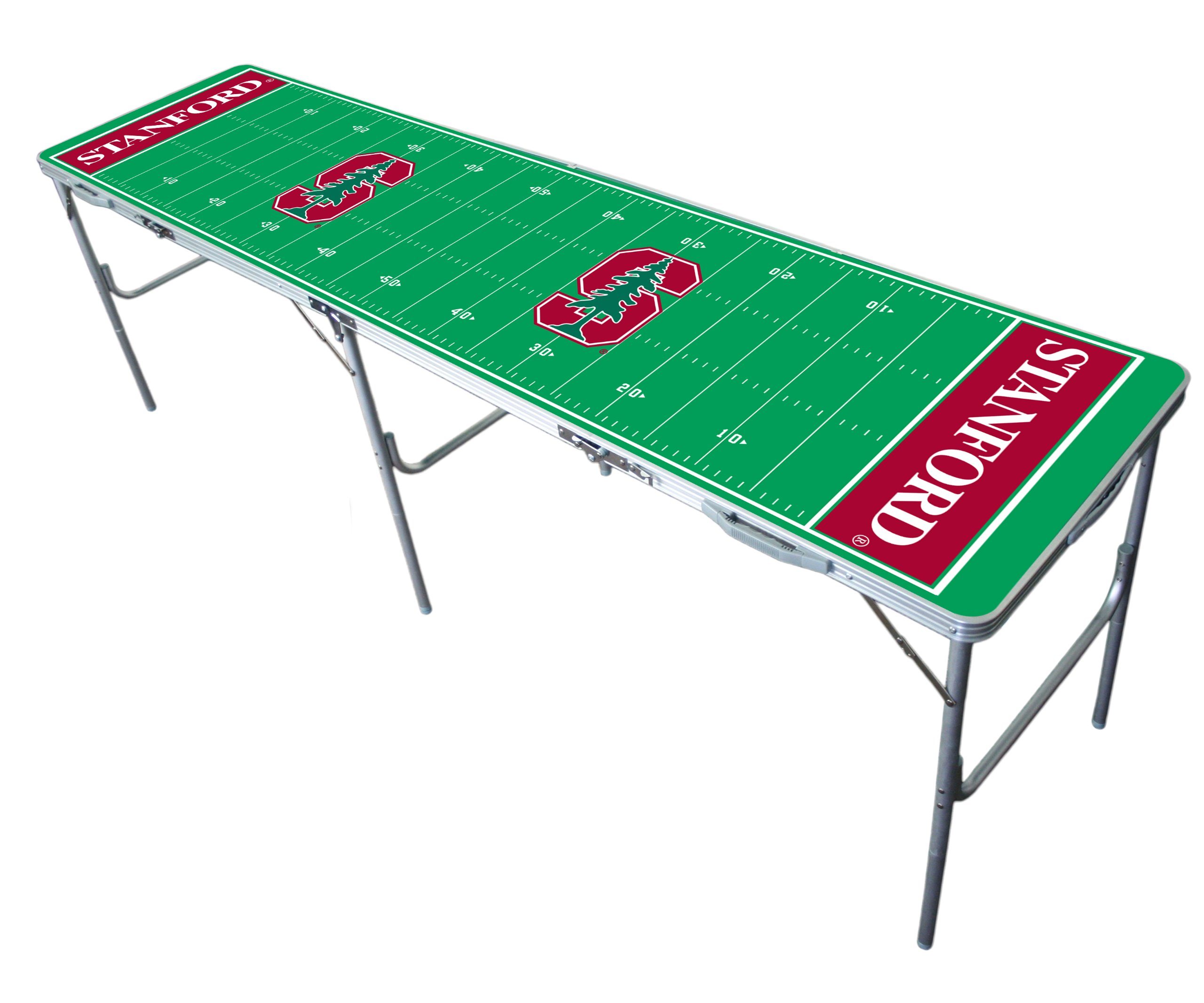 Stanford Cardinal 2x8 Tailgate Table by Wild Sports by Wild Sports