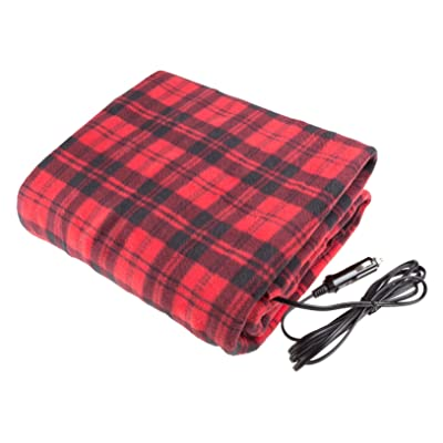 Stalwart 75-BP800 Red/Black Electric Blanket for Automobile: Automotive