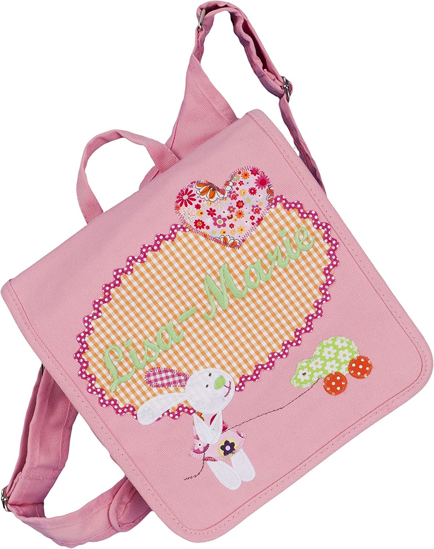 crepes suzette Kindergartentasche, Kindergartenrucksack, Tasche mit Namen, Kindergartentasche mit Namen, Namenstasche, Kinderrucksack, Kindergartentasche mit Hase
