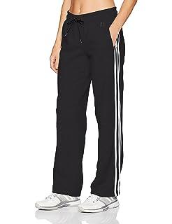 95fdd719aed4 Amazon.com  adidas Women s Essentials Cotton Fleece 3-Stripe Full ...