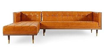 Sensational Amazon Com Kardiel Woodrow Midcentury Modern Box Sofa Cjindustries Chair Design For Home Cjindustriesco