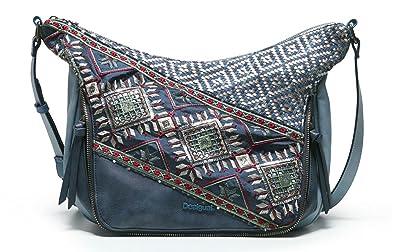 Damentaschen negro Desigual Somalia Silverly Umhängetasche