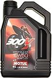MOTUL (モチュール) 300V 4T Factory Line ROAD RACING (ファクトリーラインロードレーシング) 15W50 100% 化学合成 (エステルコア) バイク用エンジンオイル 4L (並行輸入品) 104126