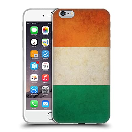 amazon com head case designs ireland irish vintage flags soft gelimage unavailable image not available for color head case designs ireland irish vintage flags soft gel case for iphone 6 plus iphone
