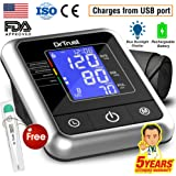 Dr Trust A-One Rechargeable Blood Pressure Testing Monitor (Black)