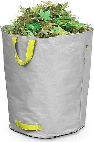 Lesto – Bolsa Multiusos (160 litros residuos de jardín, Gris: Amazon.es: Jardín