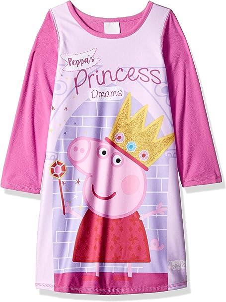 Peppa Pig Girls Toddler Dressy Nightgown