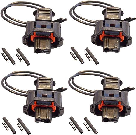 Kit Riparazione Cablaggio connettore iniettore 1928403874 Twowinds pack 4 unit/à 4