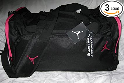 717c220b9e7930 Image Unavailable. Image not available for. Color  Nike Air Jordan Duffle  Bag ...