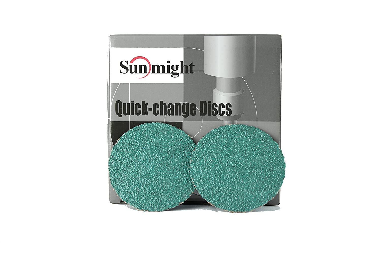 Sunmight 00102 3 36 Grit R-Type Quick Change Disc