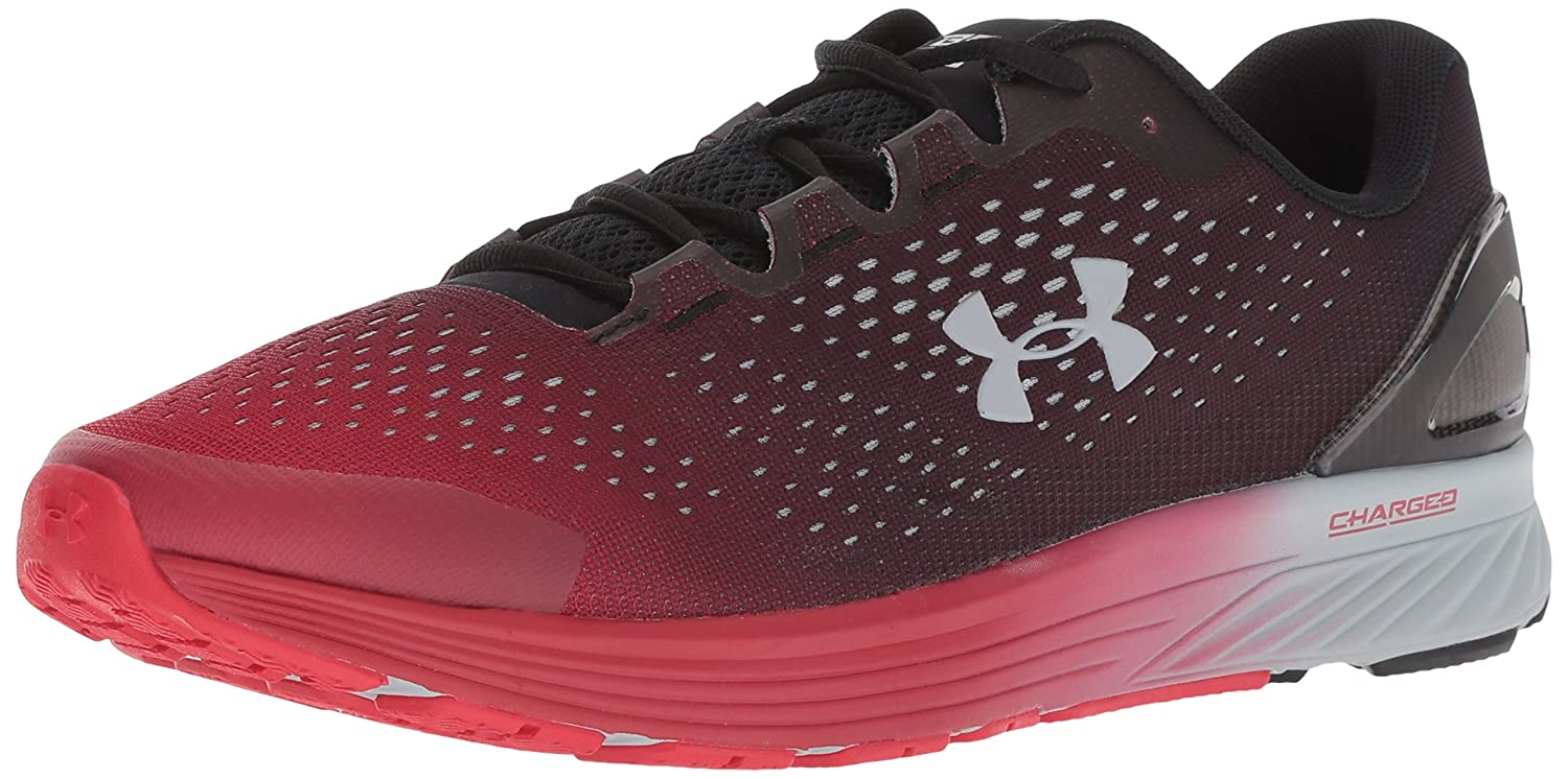 Under Armour Men's Charged Bandit 4 Running Shoe B0786TVHYZ 9 D(M) US|Black (005)/Red