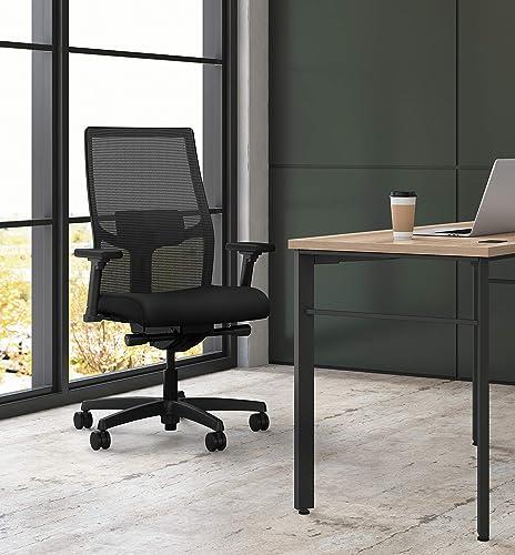 HON Ignition 2.0 Mid-Back Adjustable Lumbar Work Mesh Computer Chair