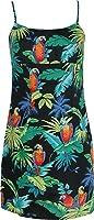 Jungle Parrots Women's Empire Slip Cotton Sundress