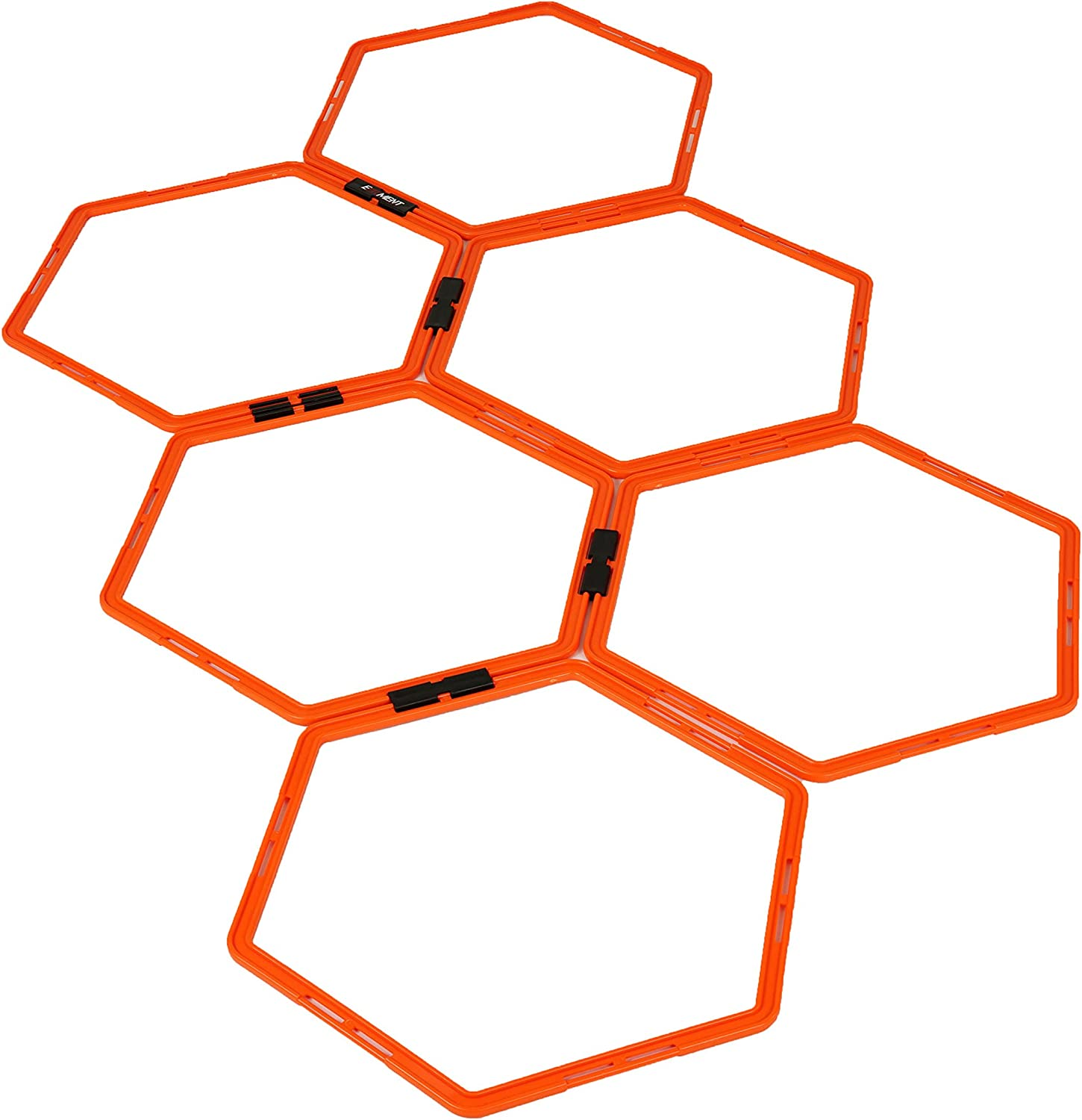 EFITMENT Hexagonal Hex Speed Rings, Agility Rings, Training Rings, Workout Rings for Fitness Foot Work – A009