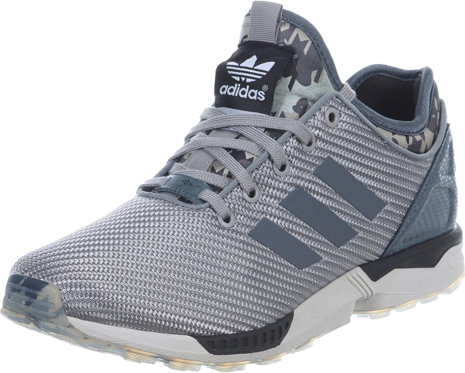 adidas ZX Flux Men's Trainers Grey Size