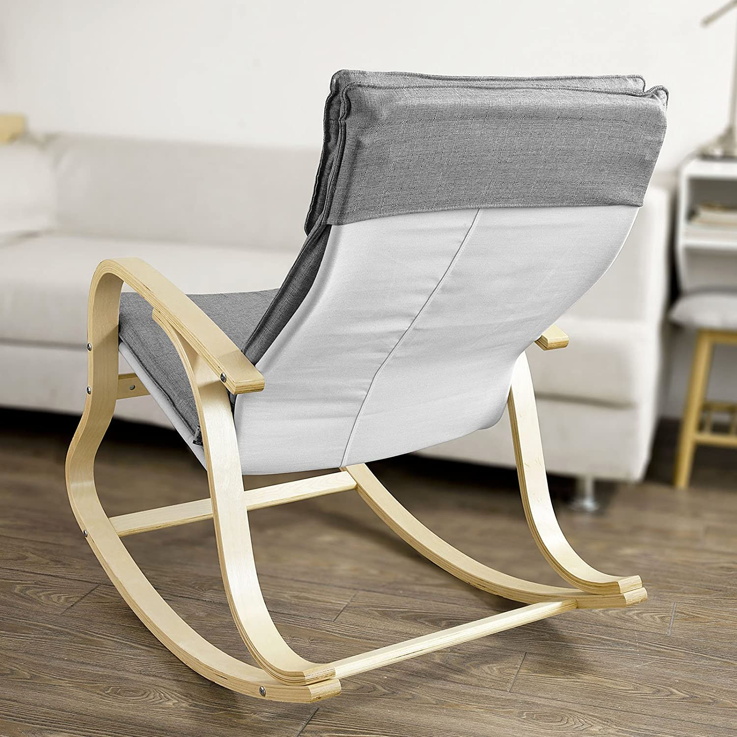 Amazon.com: SoBuy Comfortable Relax Rocking Chair, Gliders, Lounge ...