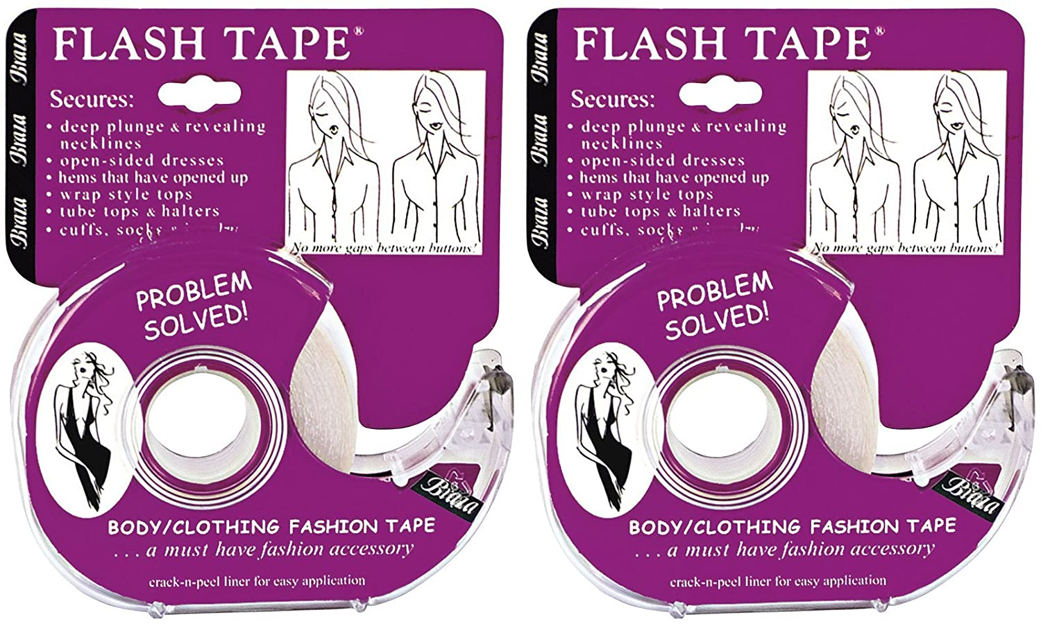 Braza Double Sided Flash Tape 3 PACK 20 ft Roll