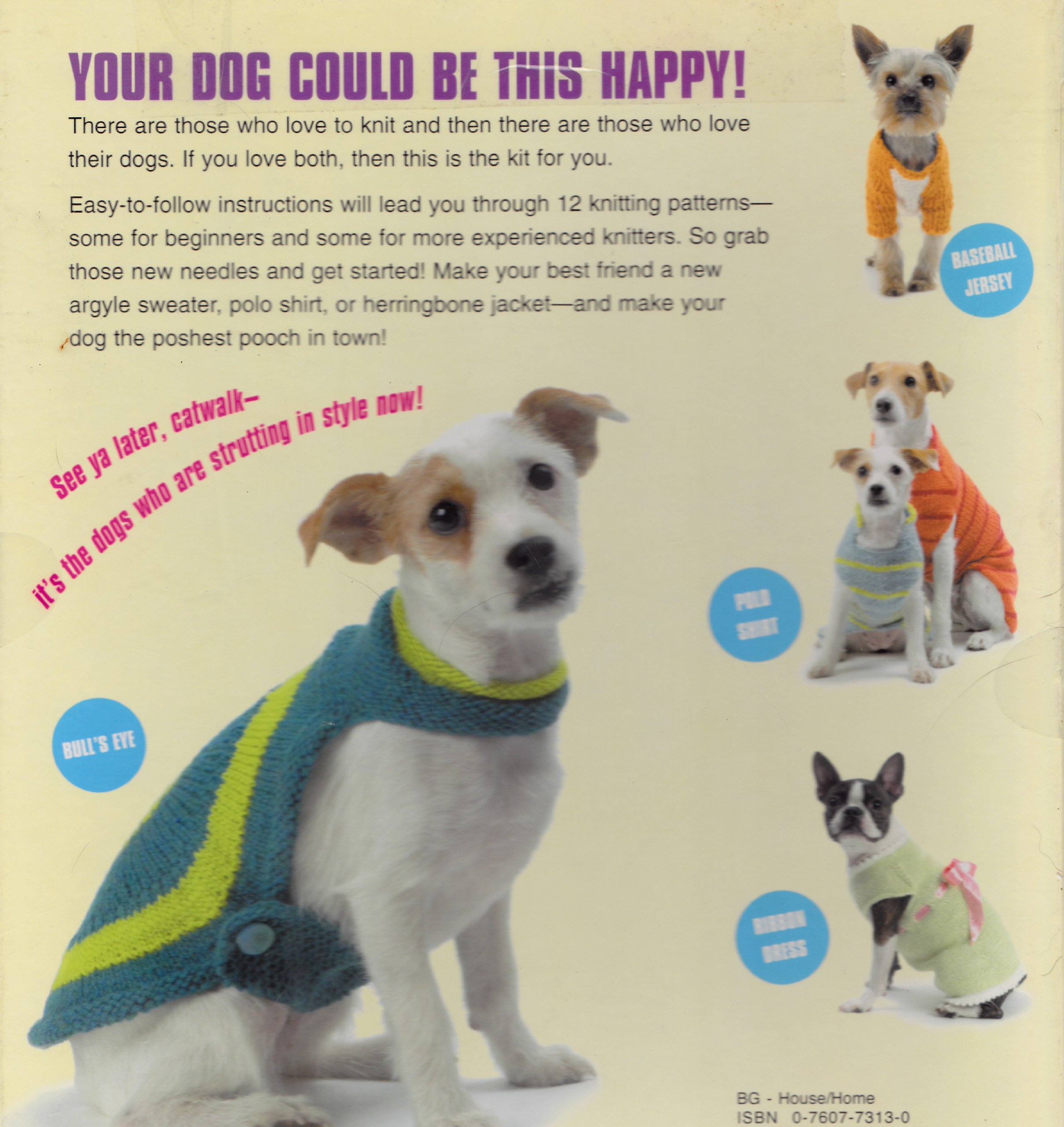 Posh Pooches 12 Knitting Patterns For The Well Dressed Dog Kimberly