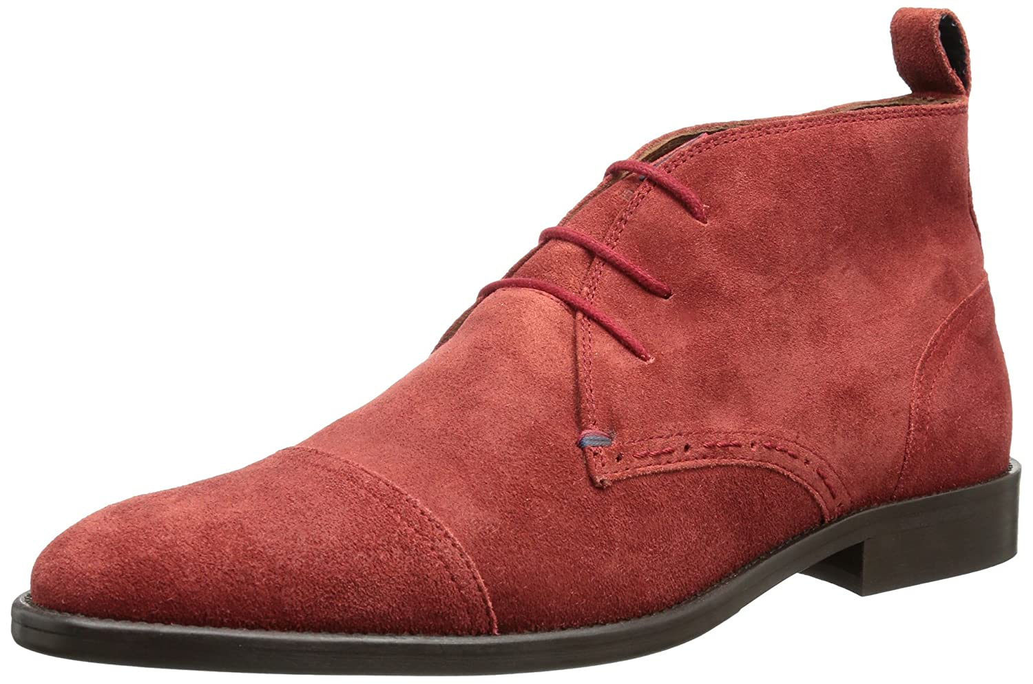 9549e715481c8 Tommy Hilfiger Mens DALTON 3B Desert Boots Red Rot (RIO RED 622) Size  41   Amazon.co.uk  Shoes   Bags