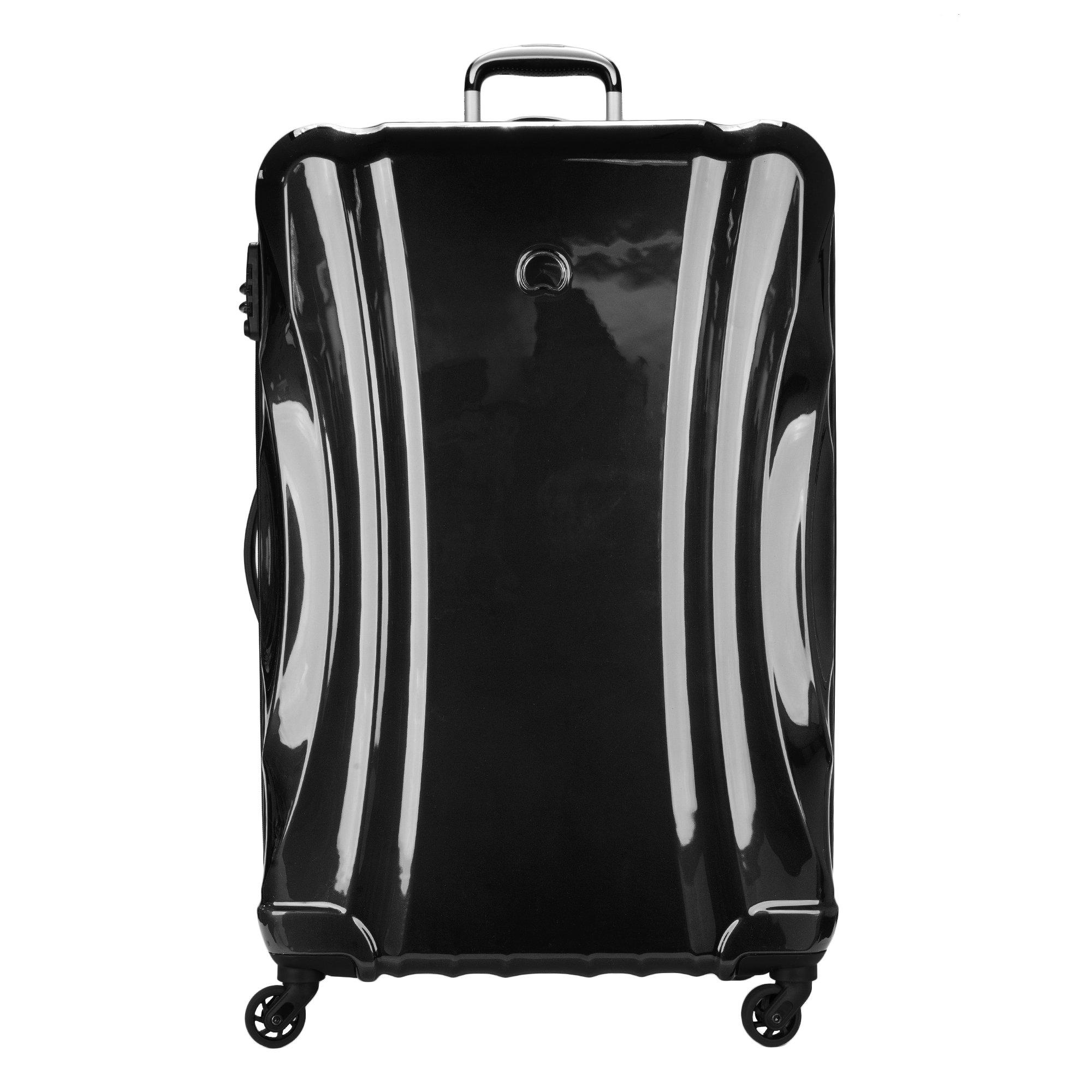 Delsey Luggage Passenger Lite 29 inch Expandable Suitcase, Black