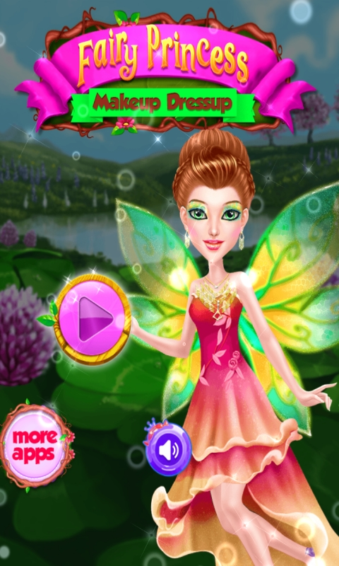 Fairy Princess Dressup - Free online games for Girls and Kids