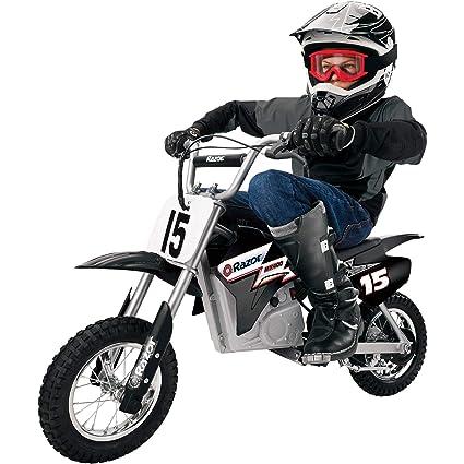 Amazoncom Razor Mx400 Dirt Rocket 24v Electric Toy Motocross