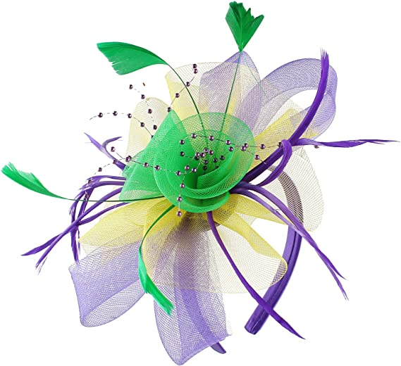 Fashband Fascinator Hat Cocktail Tea Party Headwear for Girls and Women