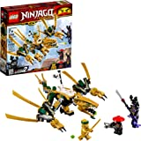 LEGO Ninjago Legacy Golden Dragon 70666 Building Kit (171 Piece)