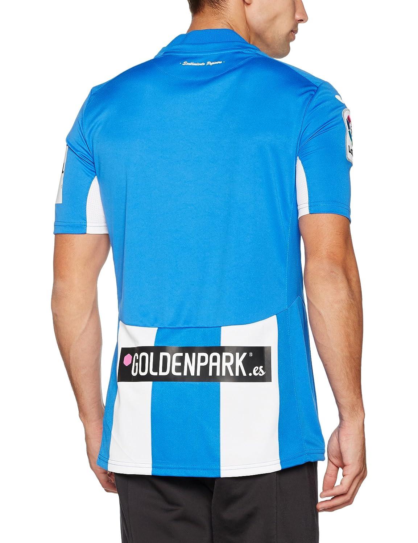 Joma 1ª Equipación CD Leganés 2016/2017 - Camiseta Oficial, Blanco/Azul, XL: Amazon.es: Deportes y aire libre