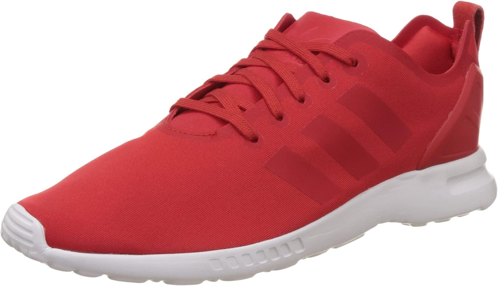 zapatillas adidas mujer rojo