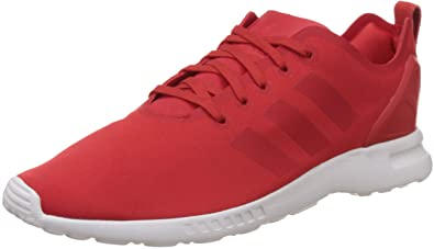 Adidas ZX Flux Smooth - Zapatillas Mujer, Rojo - Rot (Lush Red S16-St/Lush Red S16-St/Core White), EU 36 2/3 (UK 4)