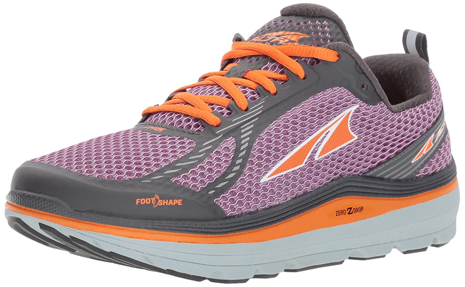 Altra Women's Paradigm 3 B01MY0QHU8 7.5 B(M) US|Purple/Orange