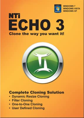 NTI Echo 3, Make an exact copy of a HDD or SSD [Download]